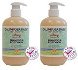 California Baby Calming Shampoo & Bodywash - 19 oz - 2pk