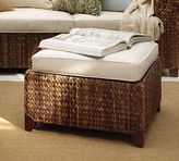 Pottery Barn Seagrass Sectional Ottoman