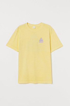 H&M T-shirt with Printed Design
