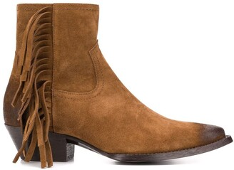 Saint Laurent Lukas 40 boots