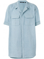 Neil Barrett oversized shirt