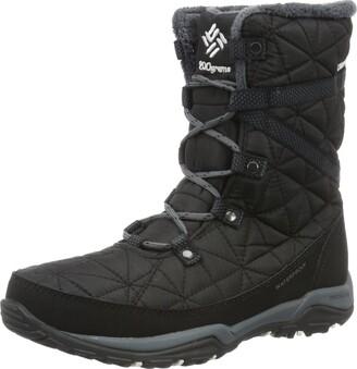 Columbia Women Loveland Mid Omni-Heat Waterproof Snow Boots Black (Black Sea Salt 010) 4 UK 37 EU