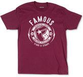 Famous Stars & Straps Men's Shocker Graphic-Print Logo T-Shirt