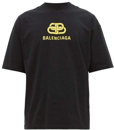 c776346b Balenciaga Logo T-shirt Men - ShopStyle