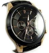 Pierre Lannier Men's watches 'Pierre Lannier' steel rose gold waterproof stopwatch.