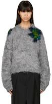 Acne Studios Grey Fhira Hairy Sweater