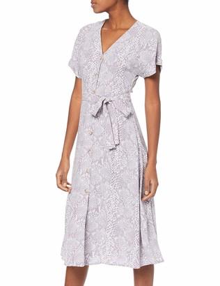 New Look Women's Snake Print Dress