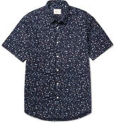 Steven Alan Printed Cotton-Poplin Shirt