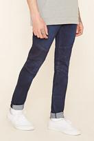 Forever 21 FOREVER 21+ Skinny Moto Jeans
