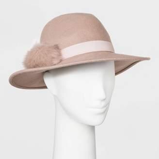A New Day Women's Felt Fedora Hat Blush