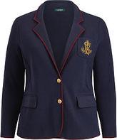 Ralph Lauren Bullion-Crest Sweater Blazer