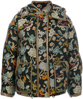 Etro Mandala puffer jacket - women - Cotton/Lamb Skin/Acrylic/Goose Down - 40