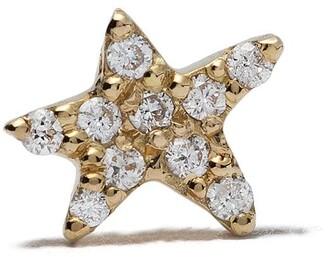 Feidt Paris 18kt yellow gold Bo Etoile In The Mood For Love Unite diamond star stud