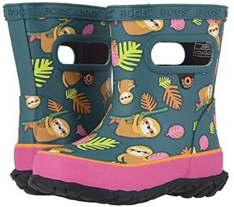 Bogs Skipper Sloth (Toddler/Little Kid) (Emerald Multi) Kids Shoes