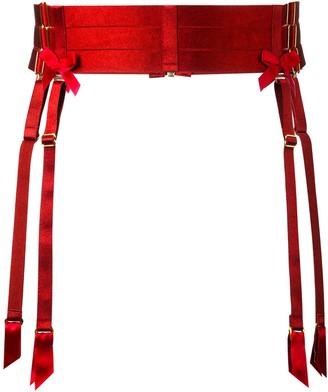 Bordelle Bow Detail Suspender