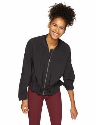 Skechers Women's Traveler Long Sleeve Full Zip Varsity Collar Jacket