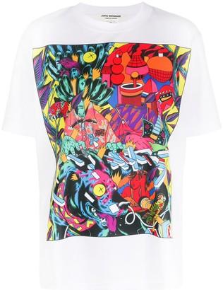 Junya Watanabe graphic print T-shirt