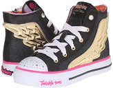 Skechers Twinkle Toes - Flutter Up 10565L (Little Kid/Big Kid)