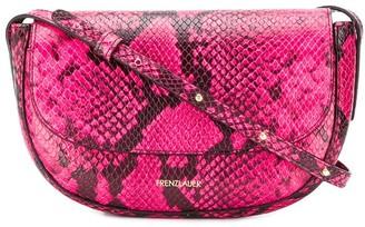 Frenzlauer Swing snakeskin-effect shoulder bag
