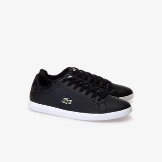 Lacoste Men's Graduate Leather and Synthetic Sneakers