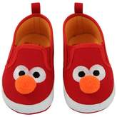 Sesame Street Baby Elmo Crib Shoes - Red