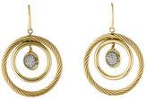 David Yurman 18K Diamond Mobile Earrings