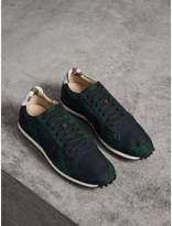 Burberry Tartan Wool Sneakers