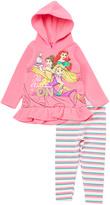 Children's Apparel Network Pink Disney Princess Hoodie & Pants - Toddler & Girls