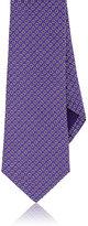 Ralph Lauren Purple Label MEN'S DOT JACQUARD SILK NECKTIE