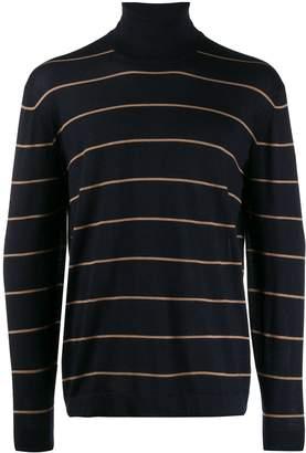 Brunello Cucinelli striped roll-neck jumper