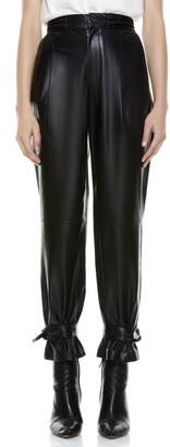 Alice + Olivia Ivette Leather Pant