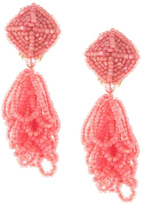 Sachin + Babi Multi-Stranded Seedbead Earrings