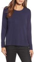 Eileen Fisher Women's Round Neck Box Sweater