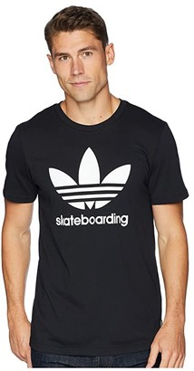 adidas Skateboarding Clima 3.0 Tee (Black/White) Men's T Shirt