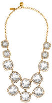 Kate Spade On The Town Crystal Bib Necklace