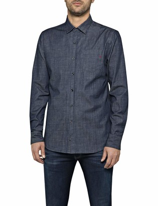 Replay Men's M4953p.000.15a 07 Denim Shirt