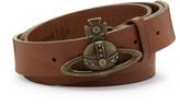 Vivienne Westwood Orb Buckle Belt 82010005 Brown