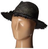 Echo Frayed Casablanca Hat