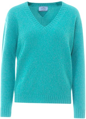 Prada V-Neck Knit Jumper