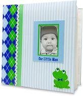 "AD Sutton ""Our Little Man"" Photo Album in Blue/Green"