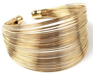 Amrita Singh Women's Bracelets Gold - Goldtone Kara Cuff