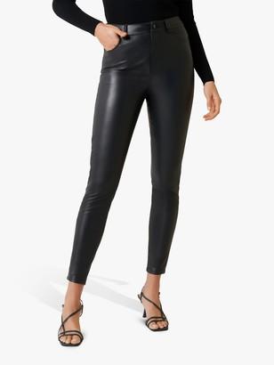 Forever New Zoe Coated Skinny Jeans