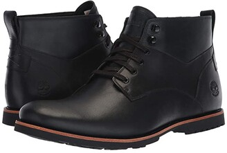 Timberland Kendrick Waterproof Chukka (Black Full Grain) Men's Lace-up Boots