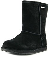 Emu Paterson Leather Lo Women Round Toe Suede Winter Boot.