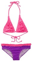 Billabong Polka Dot Two-Piece Swimsuit (Little Girls)