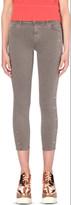 J Brand Alba skinny mid-rise jeans