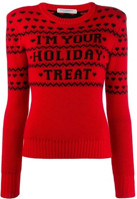 Philosophy di Lorenzo Serafini 'I'm your holiday treat' jumper