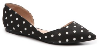 Journee Collection Cortni Polka Dot Flat