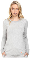 Trina Turk Pleated Pieces Long Sleeve Sweatshirt
