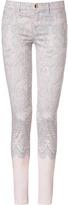 Emilio Pucci Nude Lace Print Pants